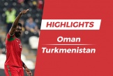 Highlights Asian Cup 2019: Oman 3-1 Turkmenistan